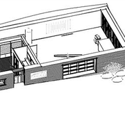 Drawing of the CTC building