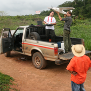 MAVinci working at a project in Brasil