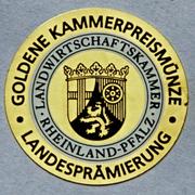 Goldene Kammerpreismünze