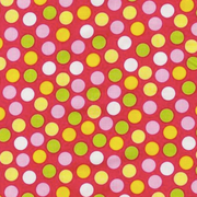 Dots 1cm pink