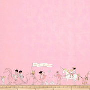Magical Parade pink - Double Border 60cm