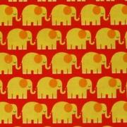 elefanten rot/gelb