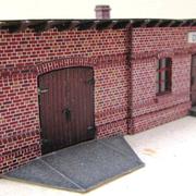 Stationsgebäude Dallmin mit Fuhrwerkswaage