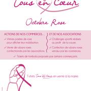 """Ville de Cancale - Affiche Abribus  """"Octobre Rose autrement"""""""