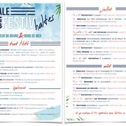 Ville de Cancale - Identité graphique et flyer Festiv'haltes