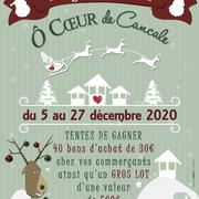 Association Au cœur de Cancale - Affiche animations de Noël