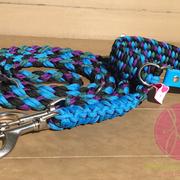 Halsband-Leine-Set, beides verstellbar