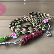 Halsband-Leine-Set, Leine 3-fach verstellbar
