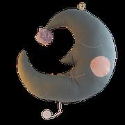 Spieluhr Mond grau, verschiedene Varianten
