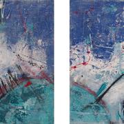 """""""Tick Tack"""" - 2x 60x60x4,5 cm - verkauft"""