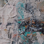 "Wandbild ""Ice"" - 3x 15x15x6 cm - Holz"