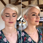 Braut Make-Up für Ina