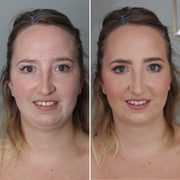 Braut Make-Up für Sarah