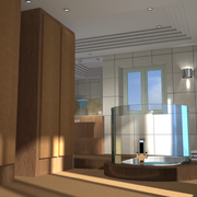 Salle de bain de maître vue 2