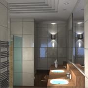 Salle de bain de maître vue 1