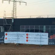 Banner Baustellenzaun