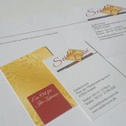 Briefbogen und Visitenkarten