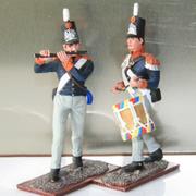 Muziekkorpsen in miniatuur