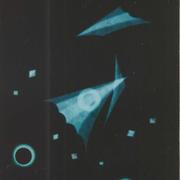 星の対話  銅版画 ap