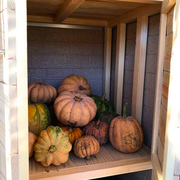 手作り DIY 野菜 収納  デッドスペース