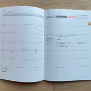 FOOD SEIRI NOTE monthly plan 計画