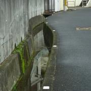 溝縁に反射板の取付け(高向1720-12付近)