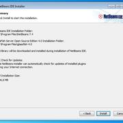 5/7 Install NetBeans