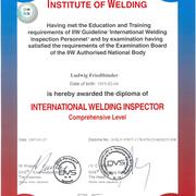 International Welding Inspector