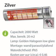Heater - Golden 2000 Ultra RC Zilver
