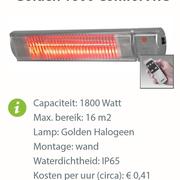Heater -  Golden 1800 Comfort RC