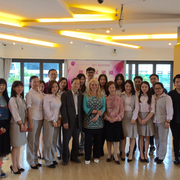 Teilnehmer der Fortbildung in Wuhan