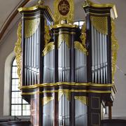 die heutige Orgel