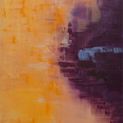 "© Alice Schütte | Titel ""Dialog""  | Größe 90x120 cm | Acryl auf Leinwand | Nr. 10-50200"