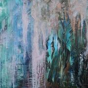 "© Alice Schütte | Titel ""Reflektion"" | Größe 100x80 cm | Acryl auf Leinwand | Nr. 10-50100"