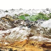 Parsenn 2, Schweiz 2017 Lambdaprint/Diasec hinter Acryl Ed. 3 + 5  75 x 270 cm  54 x 180 cm