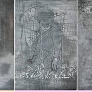 Triptyhon (3-teilig) 2019 Acryl auf Leinwand je: 120 x 80 cm