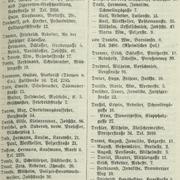 Adressbuchauszug von Stargard in Pommern, 1935