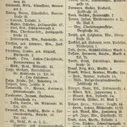 Adressbuchauszug von Stargard in Pommern, 1930