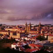 La ciudad de Santiago de Compostela