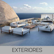 Muebles de exterior para hotel. Mobiliario para exterior.