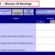 """filter result category """"Management Meeting"""""""