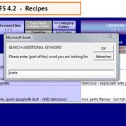 "search additional keyword ""pasta"""