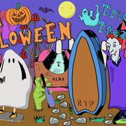 H.L.N.A SkatePark HalloweenPanel