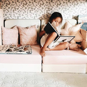 Lese-Ecke unter Hochbett