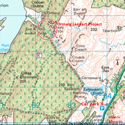 Location map (Forestry and Land Scotland) © Crown Copyright and database right 2020. Ordnance Survey Licence number 100024925