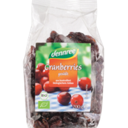 Cranberries gesüßt
