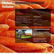Webseite für Hofladen aus der Region Wachtberg bei Bonn, Meckenheim und Rheinbach