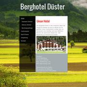 Webseite für Hotel der Firma moving web