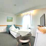 Dreibettzimmer Schlafcouch CITY HOTEL GARNI DIEZ