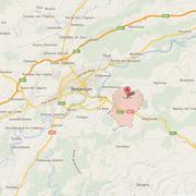 Situation Géographique de Saône